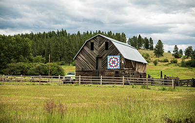 Photograph - Barn Protected by Tom Cochran