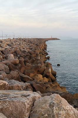 Photograph - Barra De Peniche 2 by Angelo DeVal