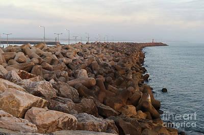 Photograph - Barra De Peniche by Angelo DeVal