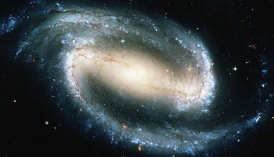 Photograph - Barred Spiral Galaxy Ngc 1300 by Stocktrek