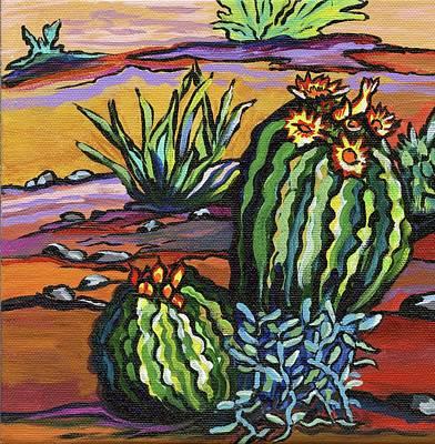 Painting - Barrel Buddies by Alexandria Winslow