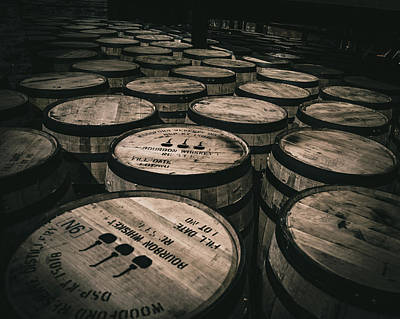 Photograph - Barrel Heads  by Joseph Caban