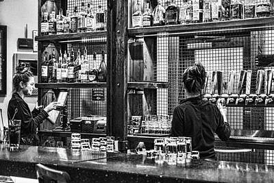 Photograph - Bartenders by Sharon Popek