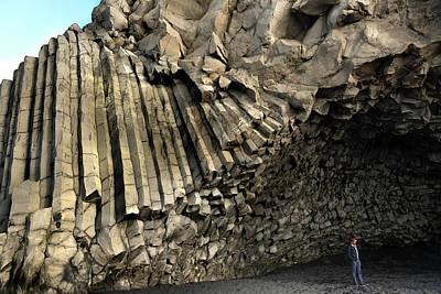 Photograph - Basalt Columns Cave On Reynisfjara Beach by RicardMN Photography