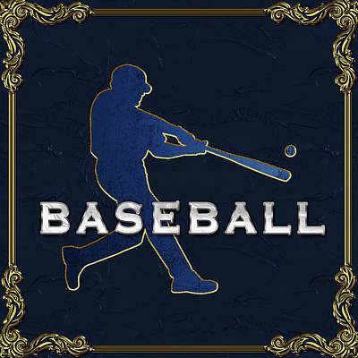 Digital Art - Baseball Gallery by Carlos Diaz