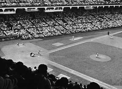 Photograph - Baseball Game by George Marks