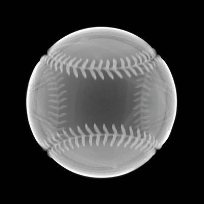 Photograph - Baseball by Nick Veasey