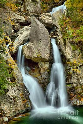 Photograph - Bash Bish Falls Closeup by Adam Jewell