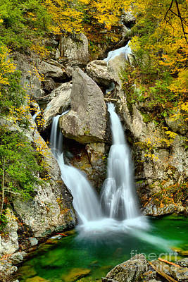 Photograph - Bash Bish Falls Emerald Pool by Adam Jewell