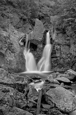 Photograph - Bash Bish Falls State Park Black And White by Adam Jewell