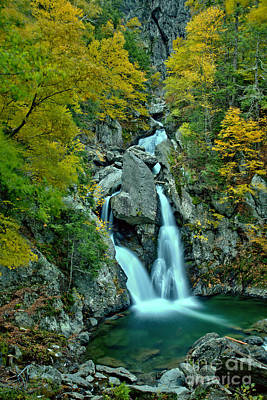 Photograph - Bash Bish State Park Fall Foliage by Adam Jewell