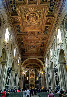 Photograph - Basilica Di San Giovanni In Laterano by Joseph Yarbrough