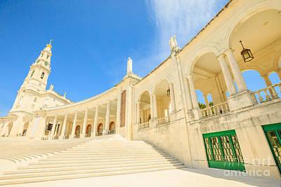 Photograph - Basilica Of Nossa Senhora Fatima by Benny Marty