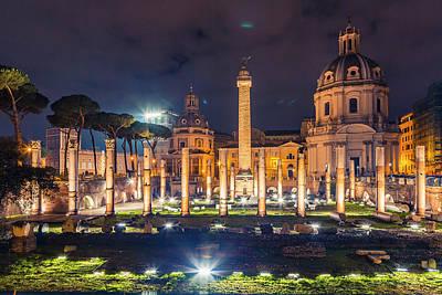 Photograph - Basilica Ulpia by ProPeak Photography