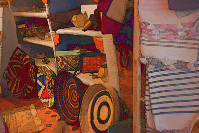 Photograph - Baskets And More by Jessica Levant
