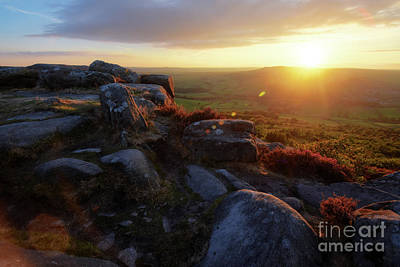 Photograph - Baslow Edge 6.0 by Yhun Suarez