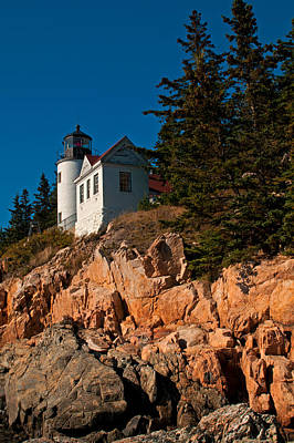 Photograph - Bass Harbor Light by Paul Mangold