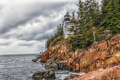 Photograph - Bass Harbor Lighthouse by Brian MacLean