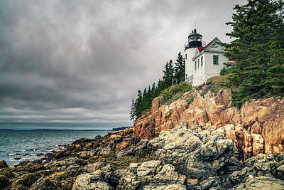 Photograph - Bass Harbor Lighthouse by James Billings