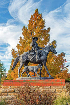 Photograph - Bass Reeves Monument - Fort Smith National Historic Site - Arkansas by Gregory Ballos