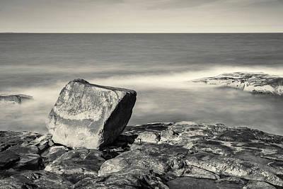 Photograph - Bass Rocks Gloucester Ma I Toned by David Gordon