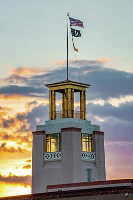 Photograph - Bataan Memorial Sunrise - Santa Fe New Mexico by Gregory Ballos