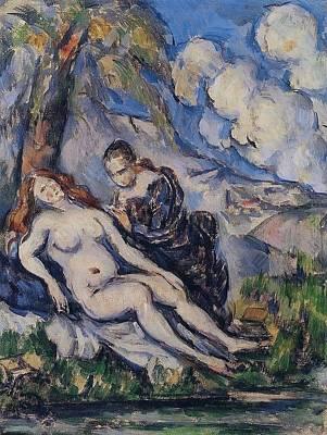 Keith Richards - Bathsheba by Paul Cezanne Paintings