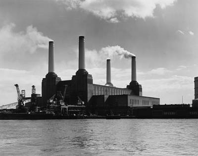 Battersea Power Art Print by Woolnough