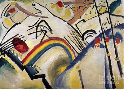 Photograph - Battle, 1910 by Wassily Kandinsky
