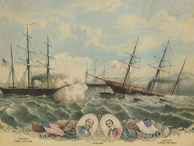 Battle Of Cherbourg Art Print by Hulton Archive