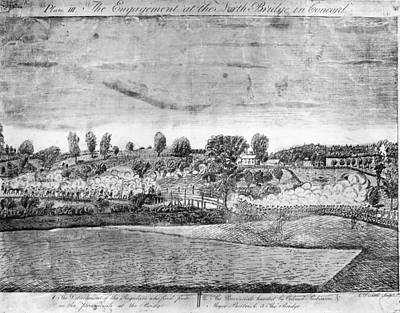 Battle Of Concord Art Print by Fotosearch