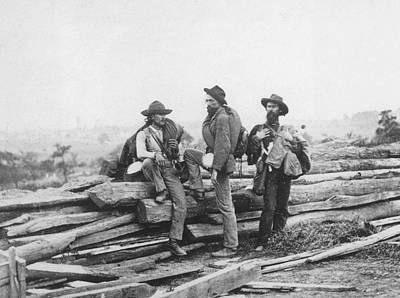 Battle Of Gettysburg Art Print by Archive Photos