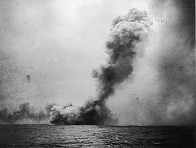 Battle Of Jutland Art Print by Fotosearch