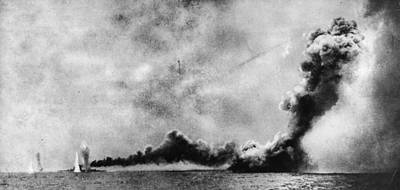Battle Of Jutland Art Print by Hulton Archive