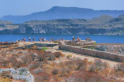 Photograph - Battlement On Imeri Gramvousa by Sun Travels