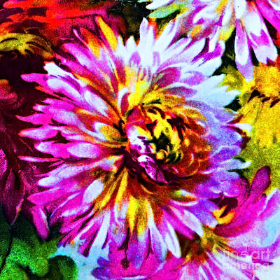 Painting - Bavarian Chrysanthemum by Unknown