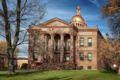 Photograph - Bayfield County Courthouse by Susan Rissi Tregoning