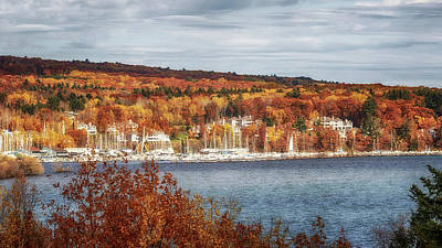 Photograph - Bayfield In Autumn by Susan Rissi Tregoning