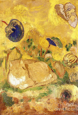Painting - Bazon by Odilon Redon
