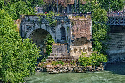 Tiber Island Wall Art - Photograph - BC by Joseph Yarbrough