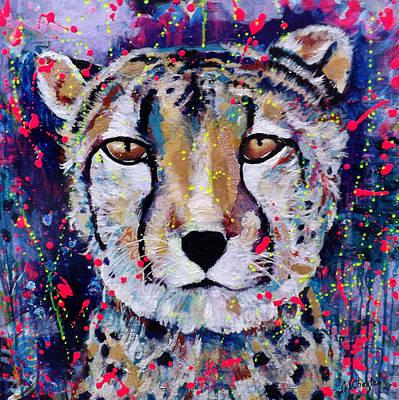 Be Fearless Art Print by Jennifer Charton