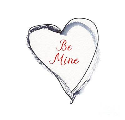Painting - Be Mine by Kathleen McElwaine