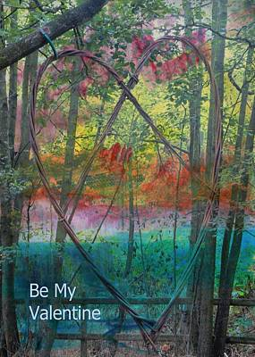 Mixed Media - Be My Valentine by Dorothy Berry-Lound