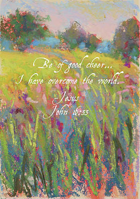Painting - Be Of Good Cheer by Susan Jenkins