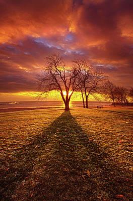 Art Print featuring the photograph Be Still In The Moment by Phil Koch