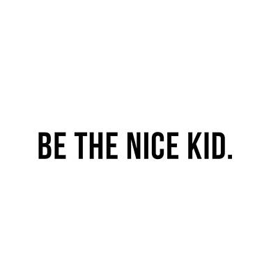 Photograph - Be The Nice Kid #minimalism by Andrea Anderegg