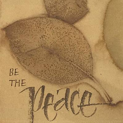 Painting - Be The Peace by Sally Wightkin