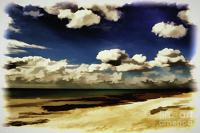 Painting - Beach A18-67 by Ray Shrewsberry