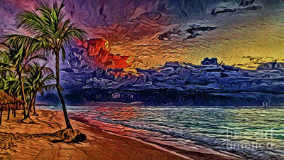 Photograph - Beach A8-14 by Ray Shrewsberry