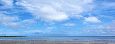 Landscape Wall Art - Photograph - Beach And Sky by Joan Stratton